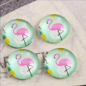 Jewelry - 🐚🏄🏽♀️BEACH READY!  Flamingo & Pineapple Studs